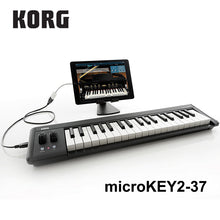Load image into Gallery viewer, Korg Portable USB MIDI 25 or 27 key Keyboard Synthesizer