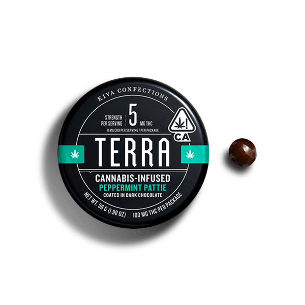Terra | Peppermint Pattie | Dark Chocolate | 100mg