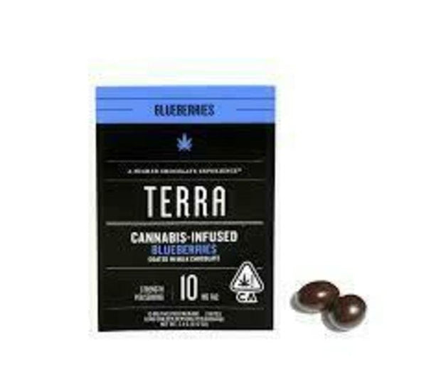 Terra | Blueberries | Milk Chocolate | 10mg