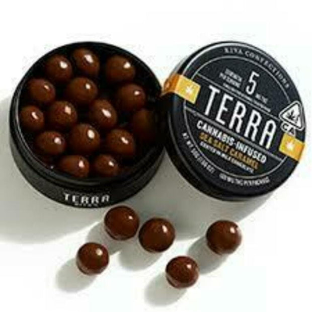 Terra | Choc. | Milk Chocolate Sea Salt Caramel | 100mg