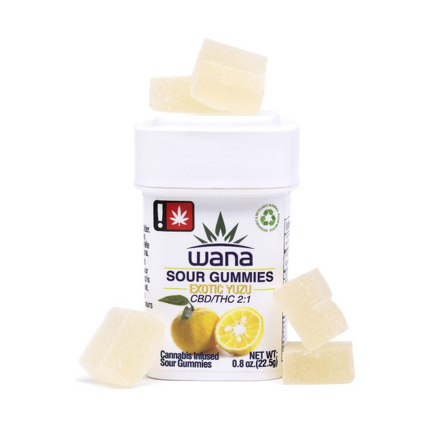 Wana Sour Yuzu 2:1 Gummies