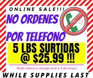 SALE! 5 LBS SURTIDO ((SOLD OUT)) - Carnitas Uruapan