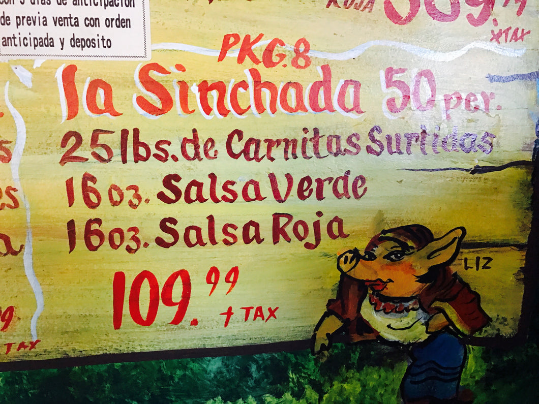 La Sinchada 50 People - Carnitas Uruapan