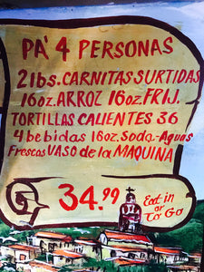 Pa' 4 - 4 People - Carnitas Uruapan