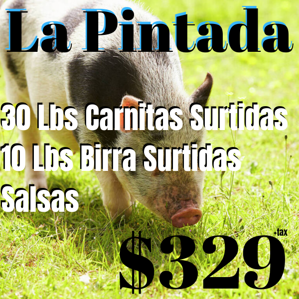 La Pintada 50 People - Carnitas Uruapan