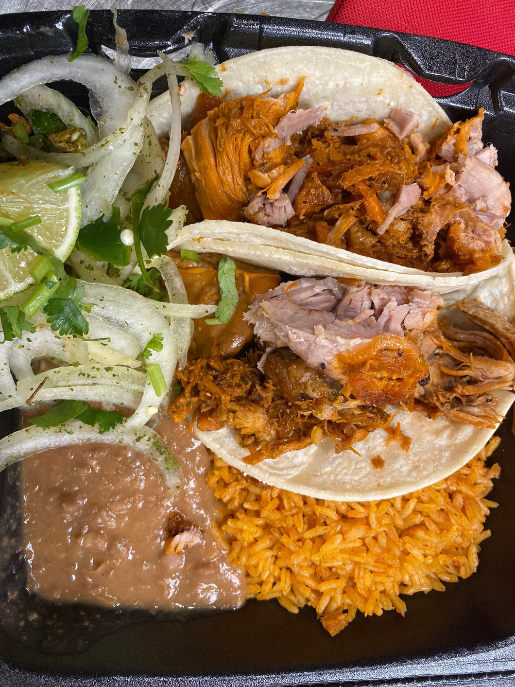 HOLIDAYS MEALS ON THE JOB ( COMBOS TO GO) READY TO EAT ON THE SPOT! MINIMO 10 PERSONAS ASTA 500 PERSONAS - Carnitas Uruapan