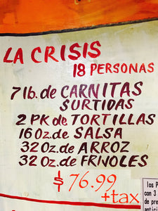 La Crisis 18 People - Carnitas Uruapan
