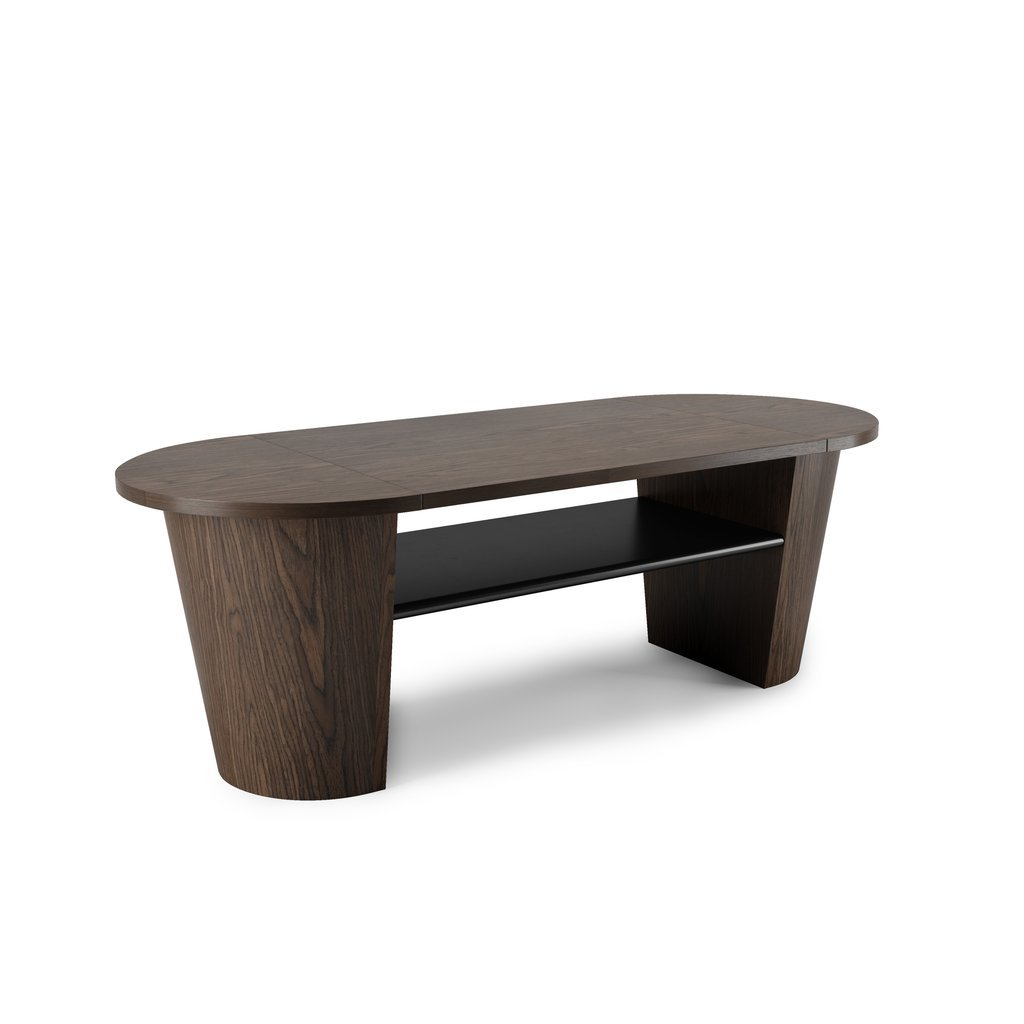 Woodrow Coffee Table -Black/Walnut