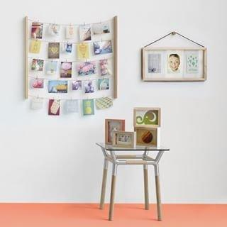 Hangit photo display Umbra - Hvid