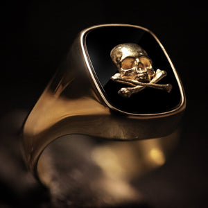 18kt. Gold Gentleman's ring