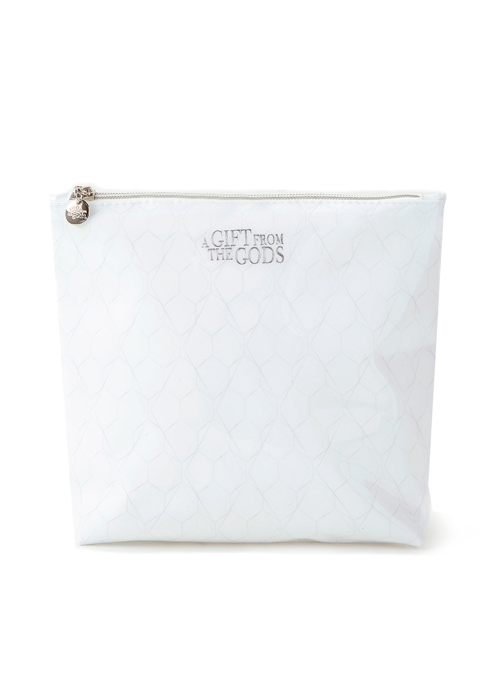 A Gift From The Gods Geo White Wash Bag