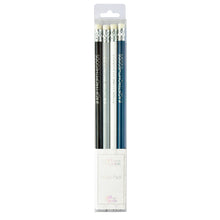 Load image into Gallery viewer, A Gift From The Gods Geo White Set of 4 Pencils