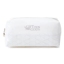Load image into Gallery viewer, A Gift From The Gods Geo White Square Cosmetic Bag