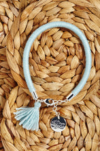 Load image into Gallery viewer, Blue Tassel Bracelet