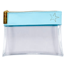 Load image into Gallery viewer, Dream Odyssey Star Aqua Clear Pouch