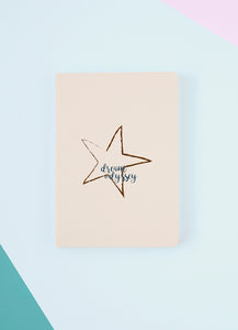 Dream Odyssey Star Beige A6 Notebook