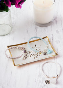 Get Your Goddess On Crown Gold Trinket Dish