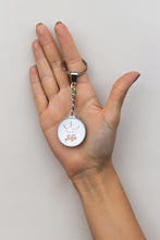 Load image into Gallery viewer, Get Your Goddess On White Round Keyring