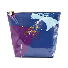 Load image into Gallery viewer, Get Your Goddess On Graffiti Blue Washbag