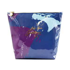 Get Your Goddess On Graffiti Blue Washbag