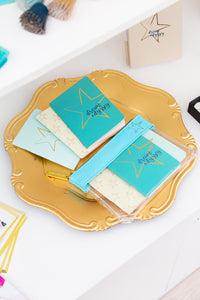 Dream Odyssey Stars Aqua Set of 3 Mini Notebooks