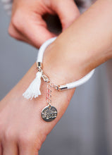 Load image into Gallery viewer, White Tassel Bracelet