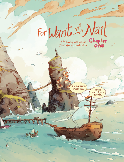 For Want of a Nail: Chapter 1