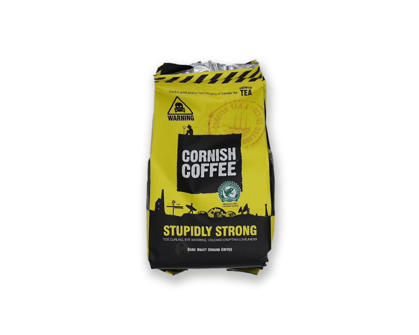 Cornish Stupidly Strong Ground Coffee 227g