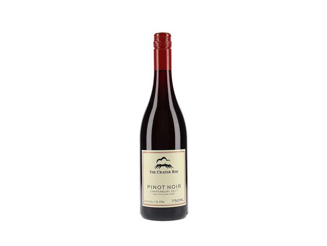 The Crater Rim Pinot Noir New Zealand Red Wine