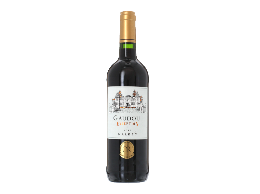 Gaudou Exception Malbec French Red Wine