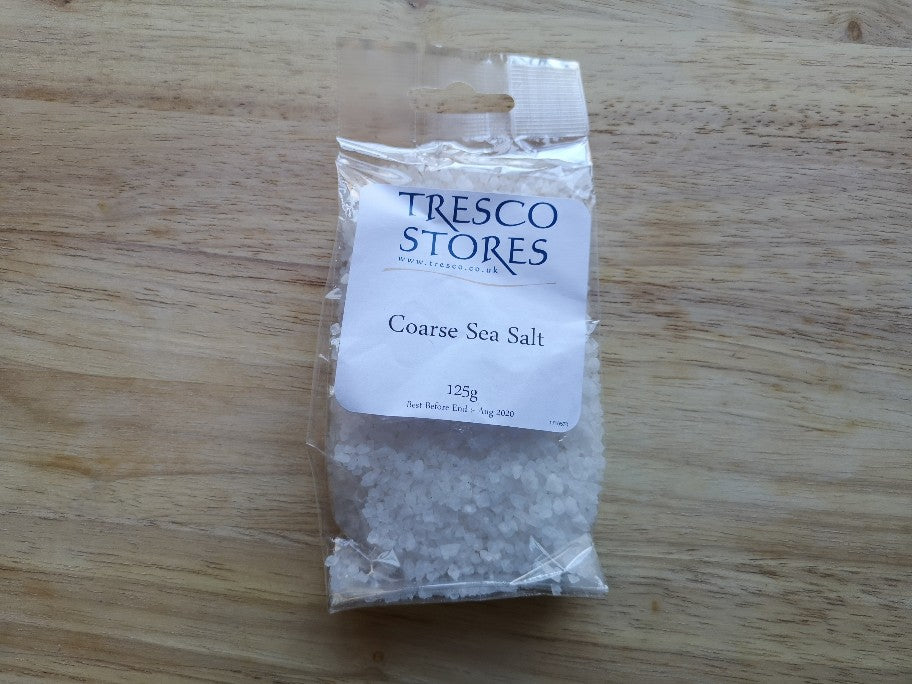 TS Coarse Sea Salt 125g