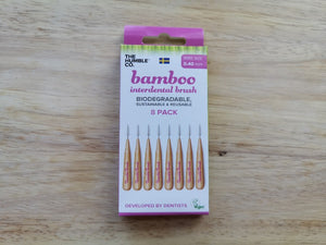 Bamboo Interdental Toothbrush