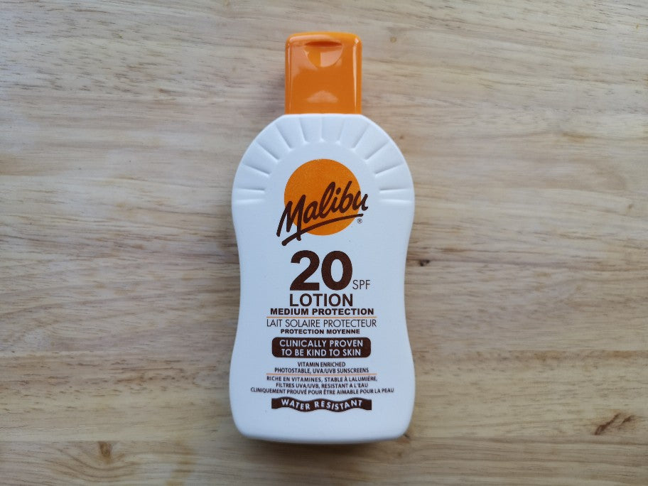 Malibu SPF20 Sun Lotion 200ml