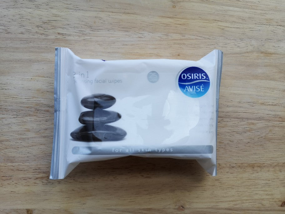 Osiris 3 in 1 Cleansing Facial Wipes