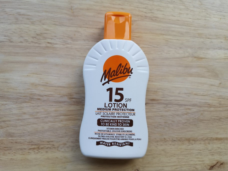 Malibu SPF15 Sun Lotion 200ml