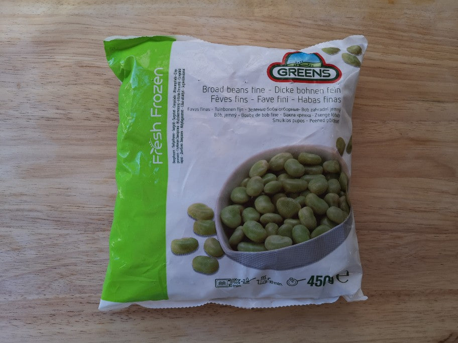 Greens Broad Beans 450g