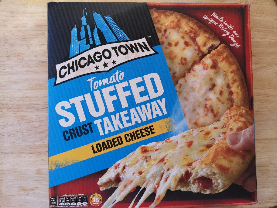 Chicago Town Stuffed Crust Takeaway Loaded Cheese Pizza