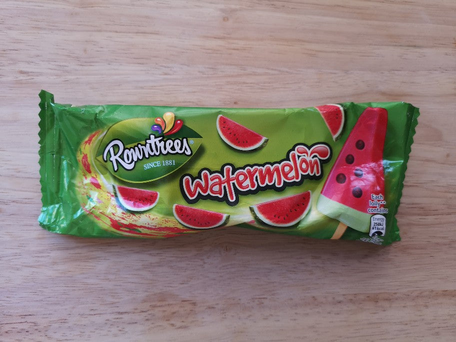 Rowntrees Watermelon Ice Lolly
