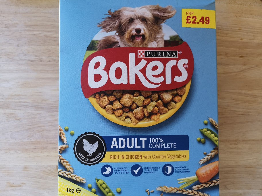 Bakers Complete Adult Dog Food 1kg