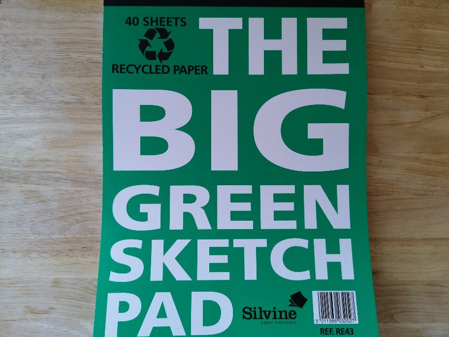 The Big Green Sketch Pad