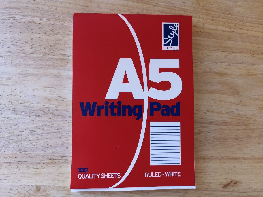 A5 Writing Pad