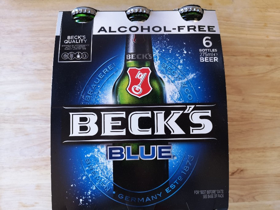 Becks Blue Alcohol Free Beer 6-pack