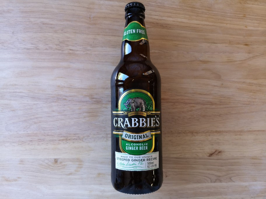 Crabbies Original Alcoholic Ginger Beer 500ml