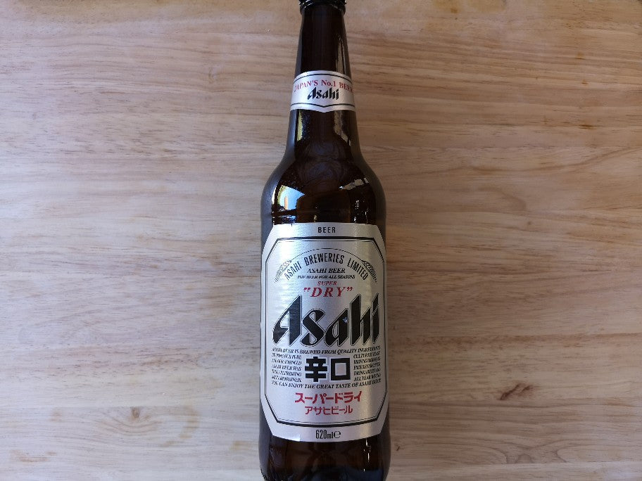 Asahi Beer 620ml Large Bottle
