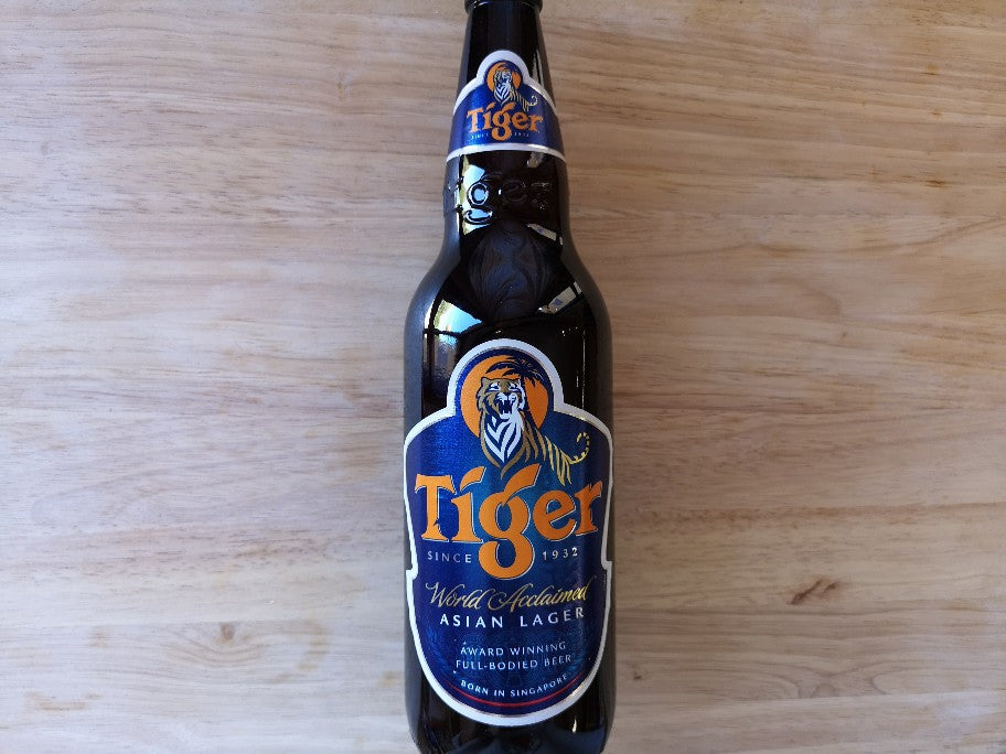 Tiger Lager Beer 640ml Large Bottle