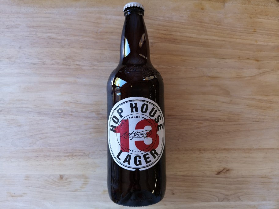 Hop House 13 Lager 650ml Large Bottle