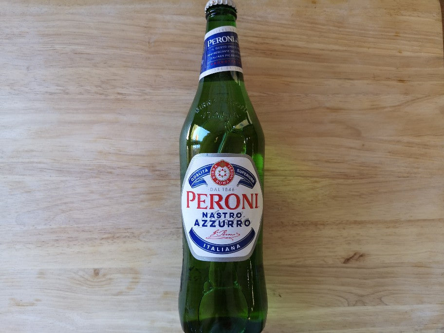 Peroni Nastro Azzurro Beer 620ml Large Bottle