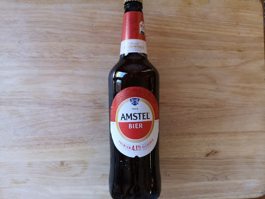Amstel Beer Pilsener 650ml Large Bottle