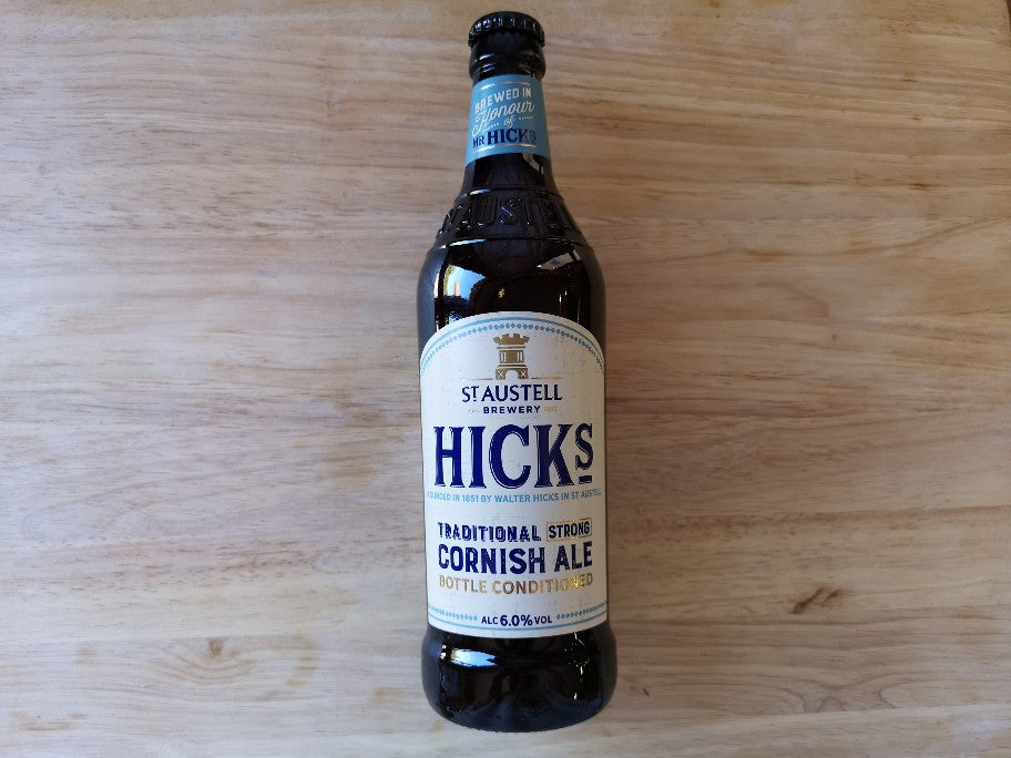 St Austell Brewery HICKS Cornish Strong Ale 500ml