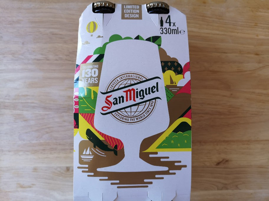 San Miguel Beer 4 x 330ml Bottles